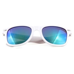 White Sunglasses with mirror glasses
