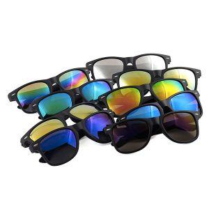 Sunglasses with mirror glasses-Multi